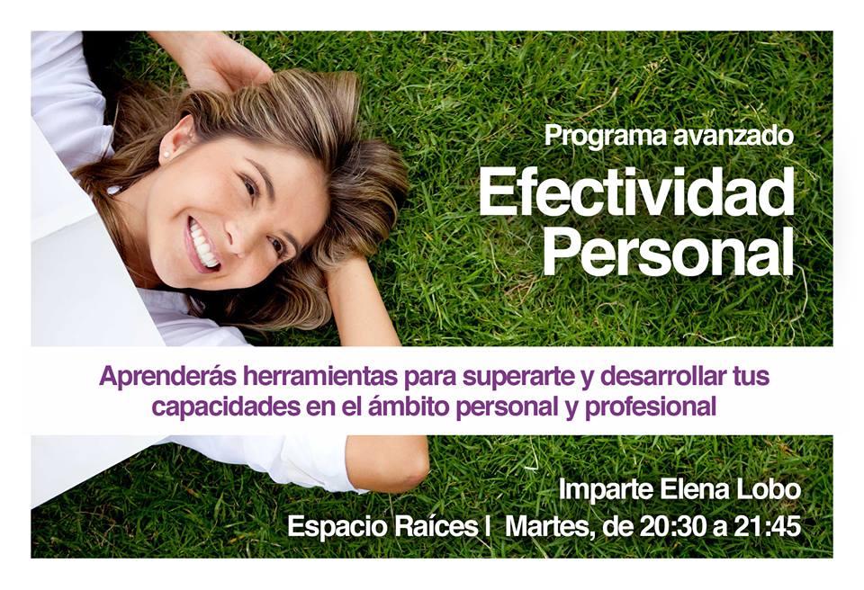 Taller crecimiento personal, taller efectividad personal, superación personal