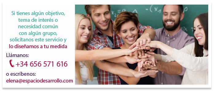 ¡Apúntate a nuestros talleres o solicita un servicio personalizado!