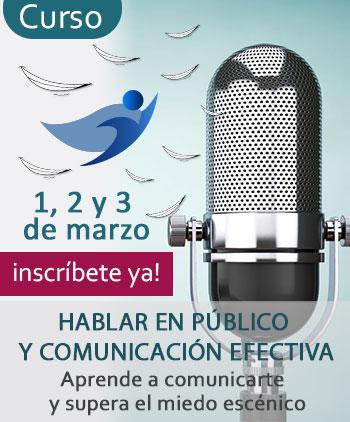Curso Hablar en Público por Elena Lobo- marzo 2019