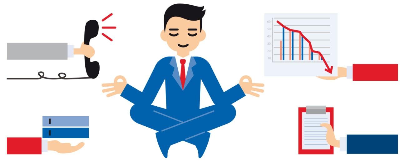 reducción del estrés en la empresa, gestión emocional, mindfulness en la empresa, regular el estrés
